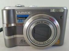 Panasonic LUMIX DMC-LZ5 6.0MP Digital Camera - Silver *GOOD/TESTED*