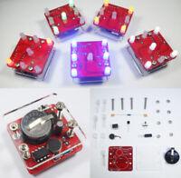 DIY Swing Shaking LED Dice Kit With Small Vibration Motor Diy Electronic Kits