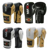 Boxing Competition Boxing Gloves Lace Ups Glove Maya Leather Punch Bag MMA ufc c
