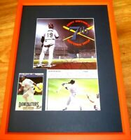 Tony Gwynn autographed signed Padres 7th Batting Title photo framed to 16x20 COA