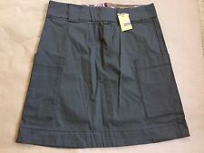 NWT Joules Tom Joule Dark Green Army Green Skirt Size UK 10