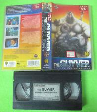 VHS film THE GUYVER BIOARMATURA POTENZIATA Data 5-6 animazione MANGA(F32) no dvd