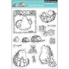 "Penny Black ""Bundle of Joy"" Clear Stamps Hedgehog Baby"