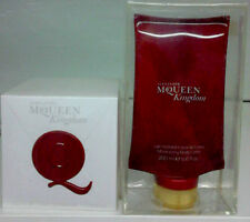 Alexander McQueen Kingdom Eau de parfum 100ml Spray+B.Lotion 200ml Vintage Neuf