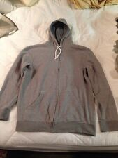URBAN PIPELINE SIZE MEDIUM HEAVY ZIP FRONT GRAY HOODED SWEATER 1448GRD