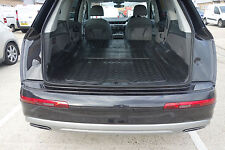 Audi Q7 2015 Onwards Rubber Boot Mat Liner Options and Bumper Protector