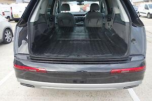 Audi Q7 2015 Onwards Rubber Boot Mat Liner Options and Bumper Protector