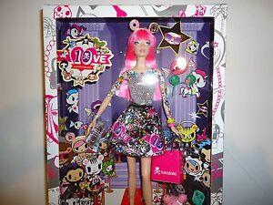 NEW  2015 10th Anniversary Tokidoki Barbie Doll Pink Hair