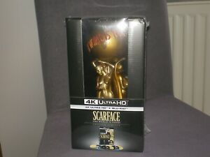 Scarface The World is Yours Blu-ray 4K STATUE COLLECTORS LIMITED EDITION NEUF