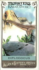 2010 Topps Allen and Ginter Mini Monsters of the Mesozoic #Mm11 Diplodocus