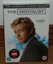 THE MENTALIST-THE MENTALIST-21ST SEASON COMPLETE-5 DVD-SEALED-NEW-NEW