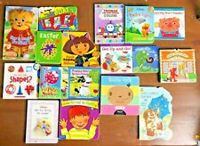 Lot 17 Kids Learning Board Book Colors Numbers Feelings Behaviors Richard Scarry