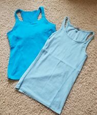Athleta Running Athletic Tank Tops Sports Bra Shirts Women's Size S (Lot of 2)