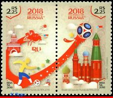 18-06 BRAZIL 2018 FIFA WORLD CUP RUSSIA, RUSSIAN FEDER., SOCCER FOOTBALL, MNH
