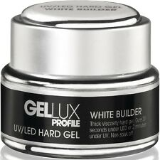 GELLUX UV/LED hard gel Builder White - 15ml - Salon systems - IDEAL 4 SCULPTING