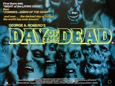 George A. Romero's Day Of The Dead movie poster - Zombie poster 12 x 16 inches