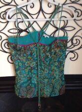 ETRO silk Size 42 6 Silk Strappy Feminine Blouse