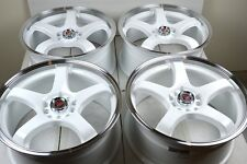 "17"" white wheels rims Accord Corolla Neon PT Cruiser Sebring Civic 5x100 5x114.3"