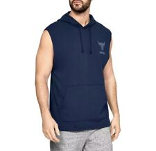 New Under Armour x Project Rock Hoodie Men/'s sizes sleeveless All Day Hustle NWT