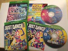 2x Xbox One XB1 Spiele jetzt das nenne ich singen Musik + Just Dance 2016 PAL