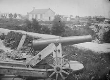 Confederate Naval Gun Nelson Church Yorktown Va 1862 New 8x10 US Civil War Photo