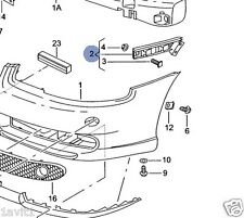 NEW GENUINE SEAT LEON TOLEDO CUPRA NEAR SIDE FRONT BUMPER BRACKET 1M0807049E