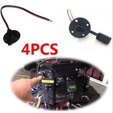 4 Pcs Vehicles Copper Black Solar Weatherproof SAE Single Head Line Socket Cable