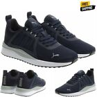 Puma Men's Pacer Net Cage Athletic Sneaker Soft Foam Shoes Navy, Variety in Size