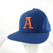 Vtg. Snapback Ball Cap Orange A Embroidered  New Era Made in USA