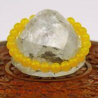 Armband gelb Citrin Stone Schmuck Nepal 132