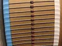 1N4607 ITT Diode Schottky 85V 0.2A 2-Pin DO-35LOT OF 50