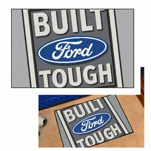 Build Ford Tought Pflaume Logo USA Teppich Starter Mat Matte Fußmatte Vorleger