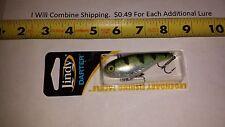 Lindy Darter LD600 2 3/4 inches long 1/2 oz. Yellow Perch Fishing Lure
