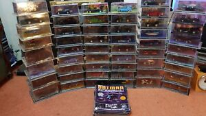 Sealed Batman Automobilia Collection Issues 1 - 49 + 4 Special Issues Eaglemoss