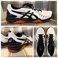 ASICS Mens Gel-Challenger 12 White/Black Tennis Shoes Size 14 (778904)