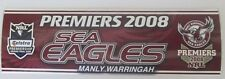 MANLY SEA EAGLES 2008 PREMIERS NRL LOGO STICKER DECAL BUMPER STICKER