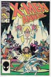 Uncanny X-MEN Annual 8 Claremont Leialoha Duffy Marvel 1984 VFN