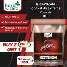 100% Pure TONGKAT ALI Powder Eurycoma longifolia TESTOSTERON BOOSTER 3.5oz
