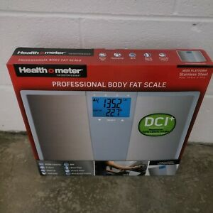 Health o Meter BFM144-99 Stainless Steel Body Fat Scale with wide platform