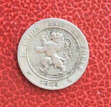 Belgique - Léopold Ier -- Rare  monnaie de 5 centimes 1864 - date plus rare