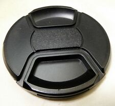 Black 77mm Lens FRONT Cap Snap on type