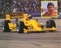 1987 Rick Mears Pennzoil Chevy Penske PC-16 Indy Car postcard