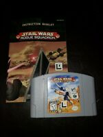 Star Wars Rogue Squadron - Authentic N64 Nintendo 64