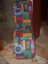 70er Jahre Auflage  NEU für Liegestuhl, Gartenstuhl,  Pop  art Design, Original