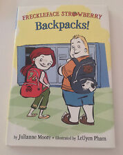Freckleface Strawberry Backpacks! SIGNED by Julianne Moore, 1st ed/1st printing