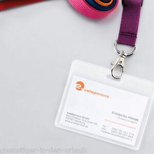 Ausweishülle Kartenhalter Kartenhülle Schutzhülle Kunststoff Hülle Verpackung