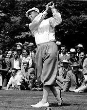 Bobby Locke with driver - classic follow-thru 1947
