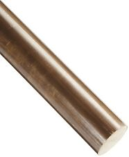 "Lot of 5 Bronze 655 Round Rod ASTM B9 5/16"" Diameter 12"" Length"