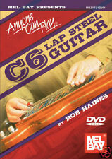 ANYONE CAN PLAY C6 LAP STEEL GUITAR BEGINNER *NEW* DVD