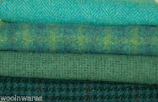 """HAND DYED RUG HOOKING WOOL Mill-Dyed ~ """"BLUEBIRD of HAPPINESS"""""""